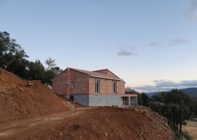 Maison en cours travaux